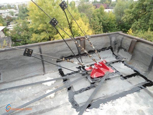 Капитальный ремонт мачты