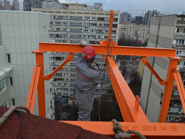 Высотные работы, альпинисты Киев