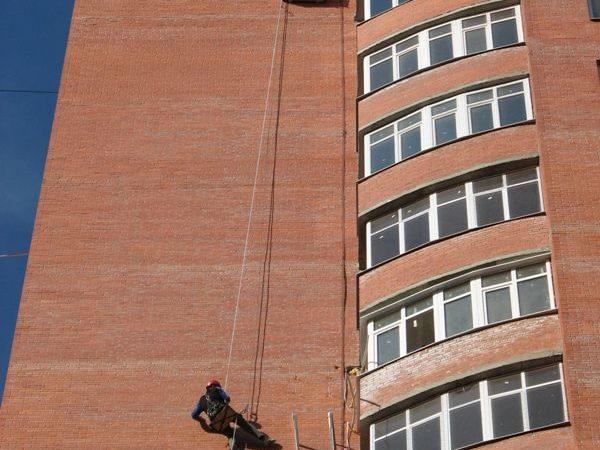 Монтаж кондиционера на 17 этаже